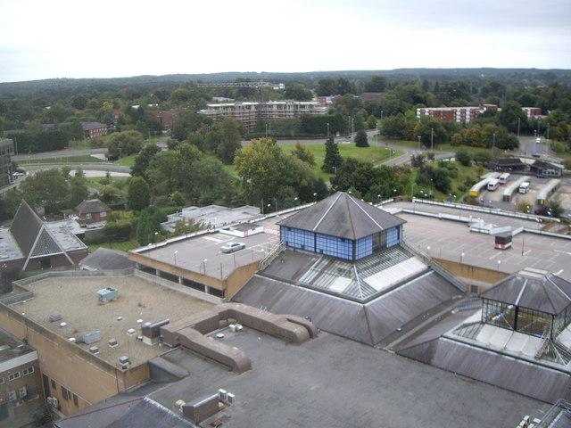 Bracknell Town Centre from Ocean House
