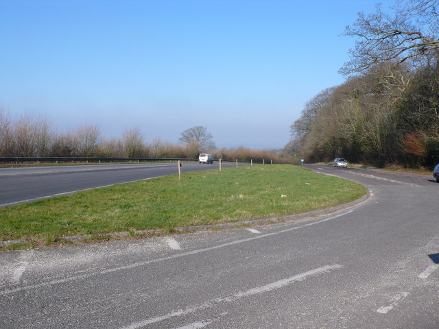 Layby on the A37 near Evershot