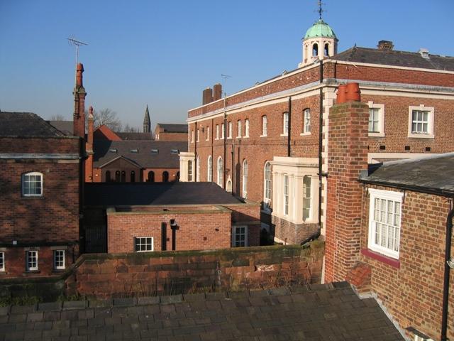 Rear of the Bluecoat School
