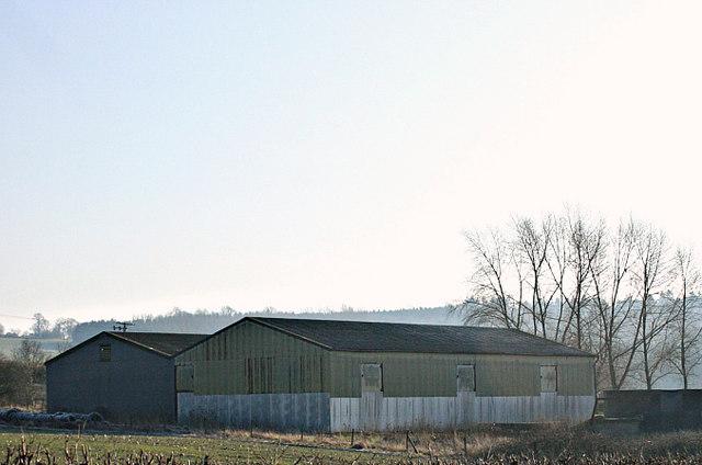 2008 : Outbuildings at Upper Lentney Farm