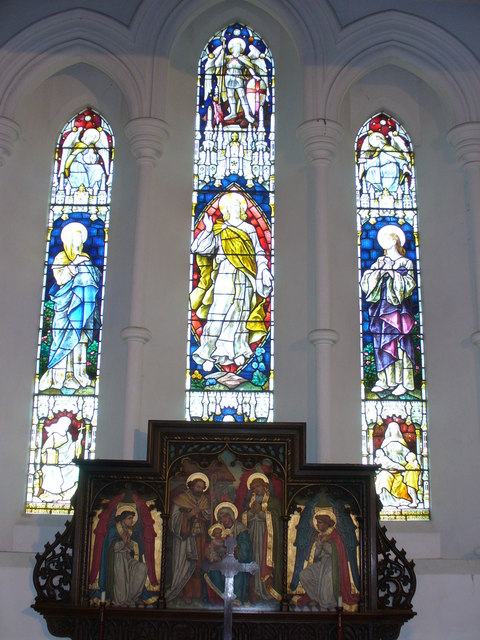 Thursley Church, East Window