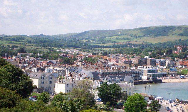 Swanage from the high ground