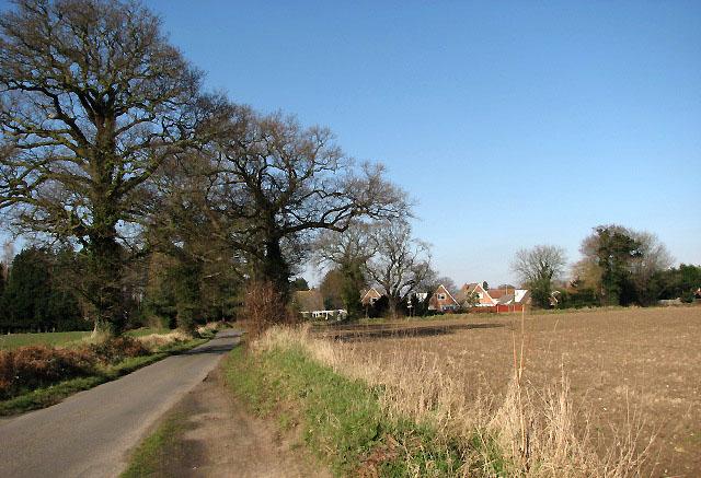 View northwest on Littlewood Lane