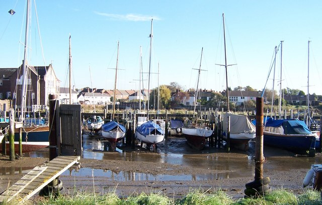 Yachts laid up at Emsworth