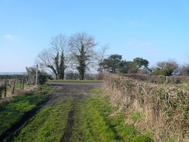 Bridleway meets B6013
