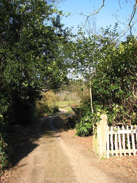 Entrance to Burnt Fen