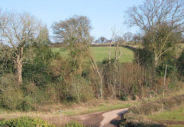Gloucestershire Way passing through Abenhall