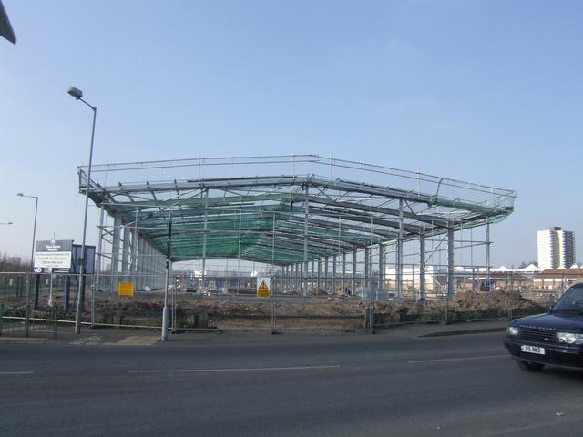 New industrial warehousing