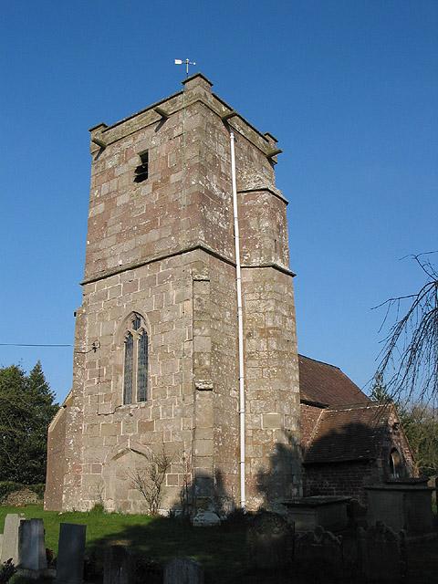 Tower of St. Michael's Church, Abenhall