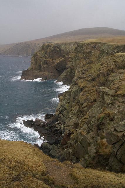 Cliffs at Lamba Ness
