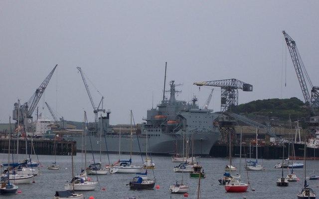 Falmouth dockyard