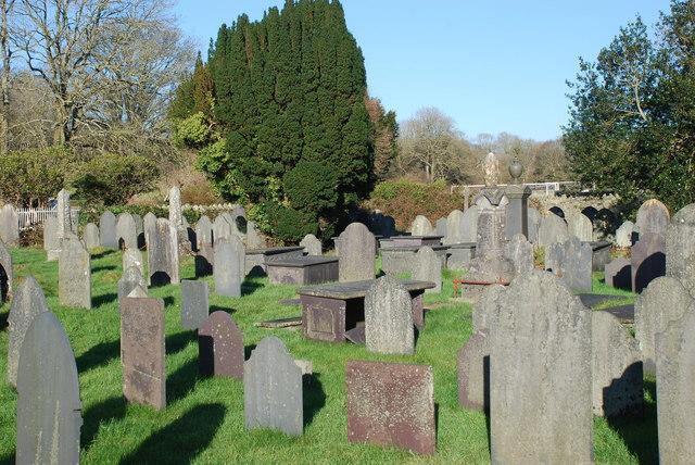 Mynwent S Ioan Llanystumdwy St John's Churchyard