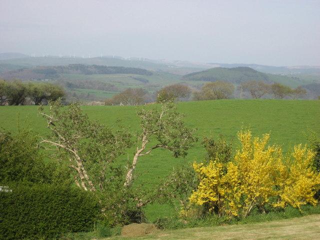 Windfarm, in distance