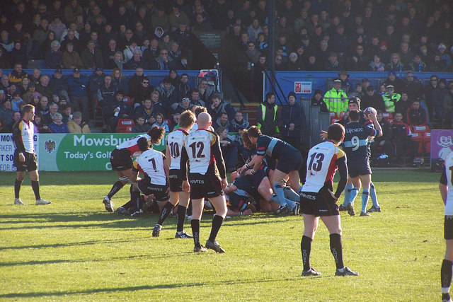 Bedford Blues in action