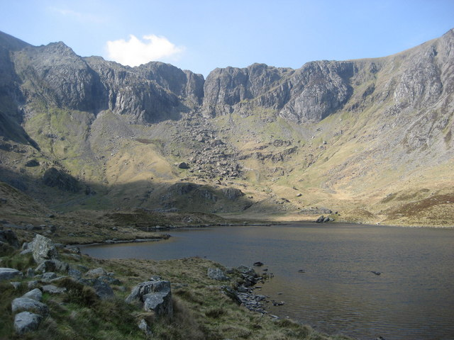 Devil's Kitchen from Llyn Idwal