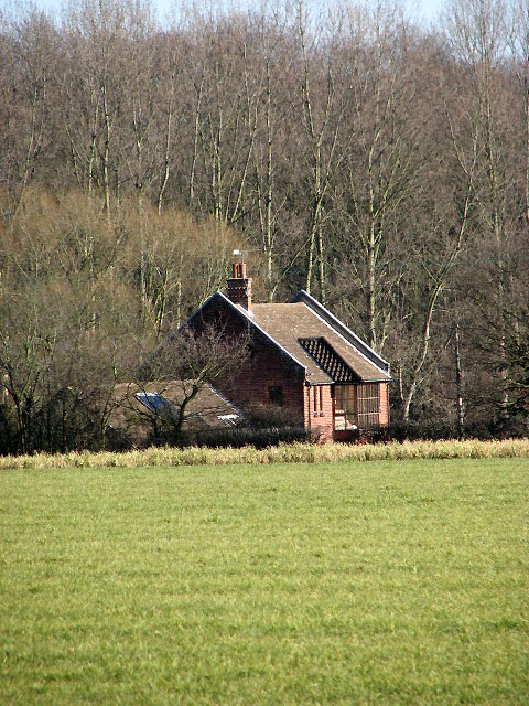 House at the edge of Hill Plantation