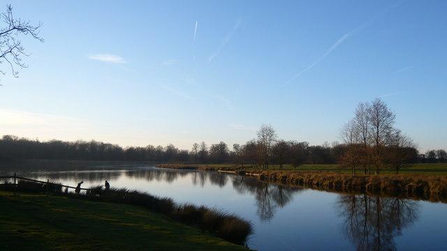 Lake at Gunton Norfolk