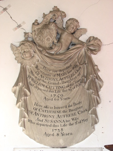 St Peter, Hoveton - wall monument