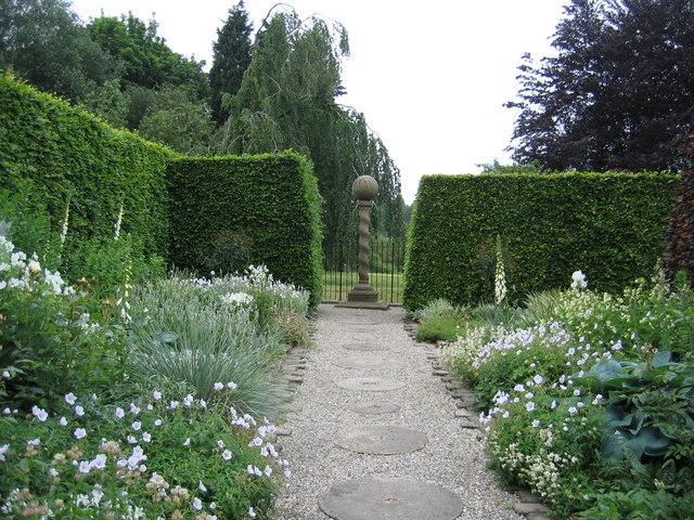 White and Silver Garden, York Gate Garden