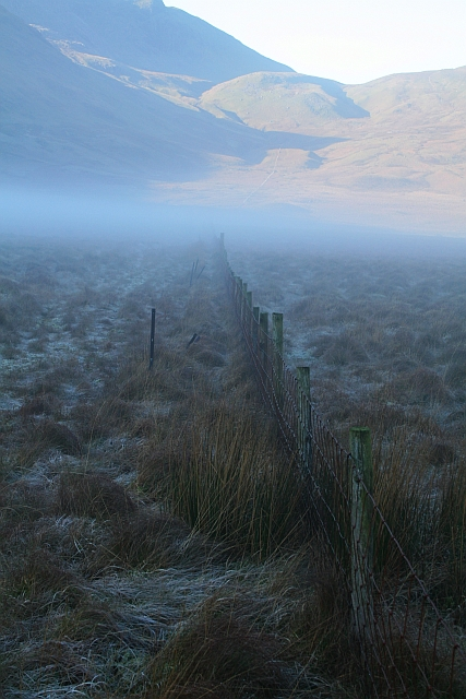 Fence Across Mosedale
