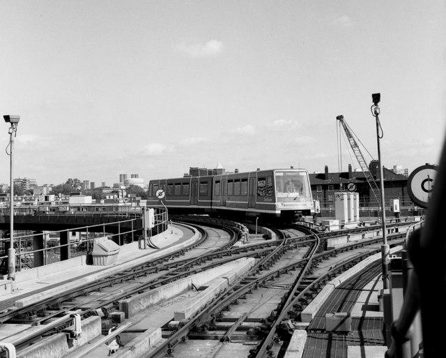 Delta Junction, Docklands Light Railway