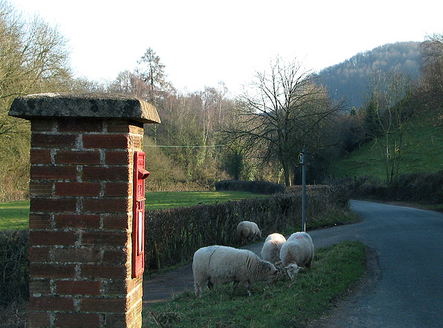 Postbox at Shapridge