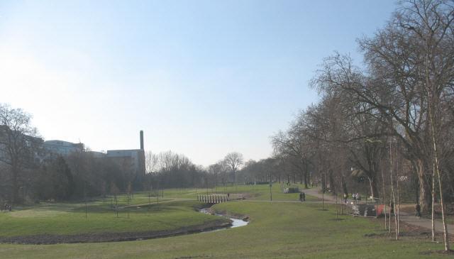 Ladywell Fields after development