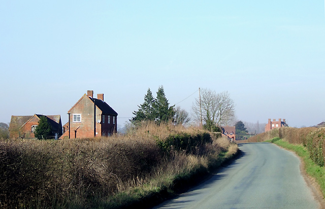 Lane to Upper Aston, Shropshire