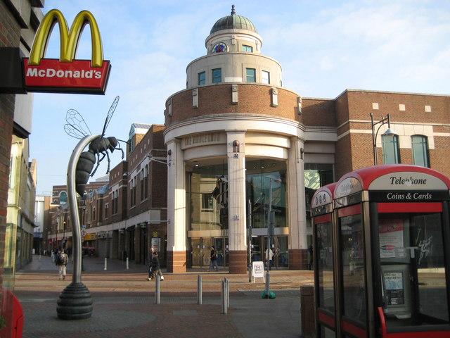 Harlequin Shopping Centre, Watford, UK