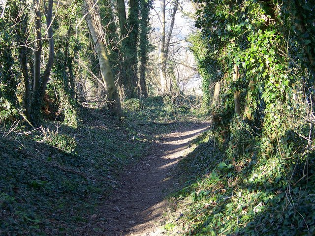 Monarch's Way, Lower Woodford