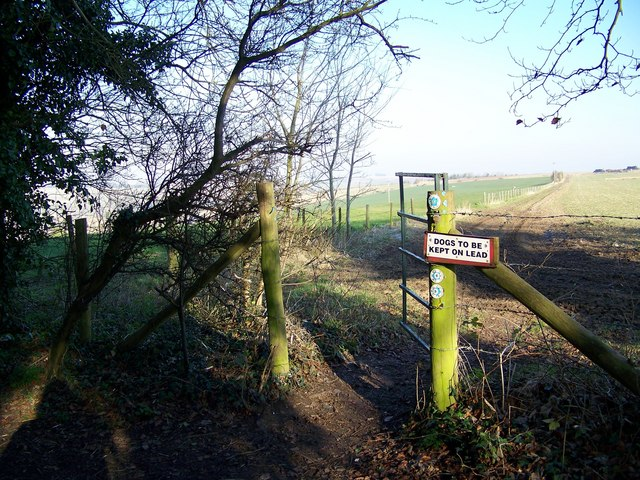 Bridleway Junction, Lower Woodford