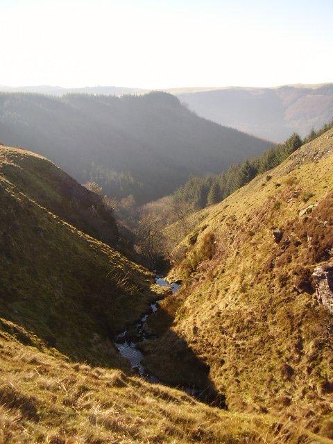 Dramatic gully