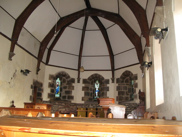 The interior of St. Mark's Church