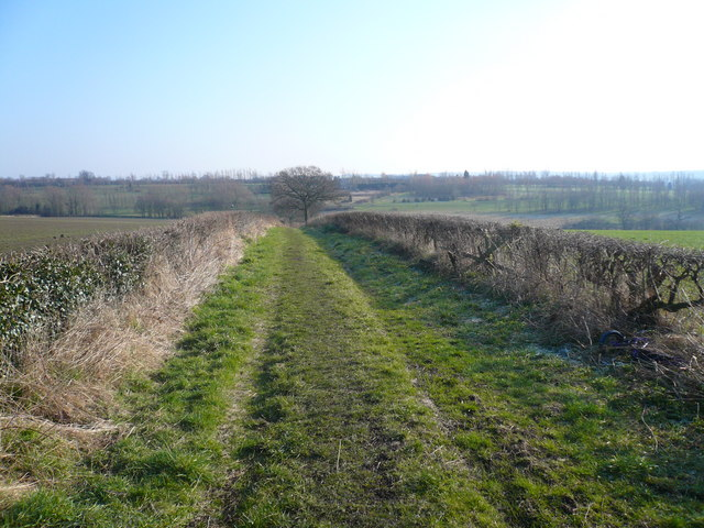 Bridleway running towards Shirland Golf Course