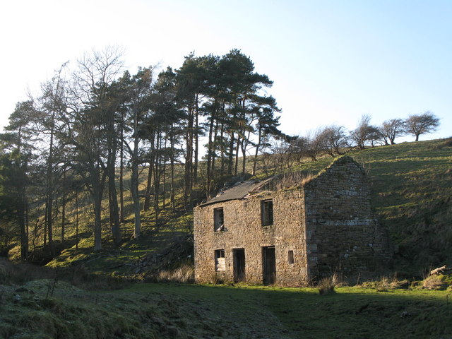 The blacksmith's shop at Mohope Head Lead Mine