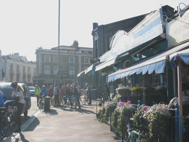 Cyclists meet, Crystal Palace Parade
