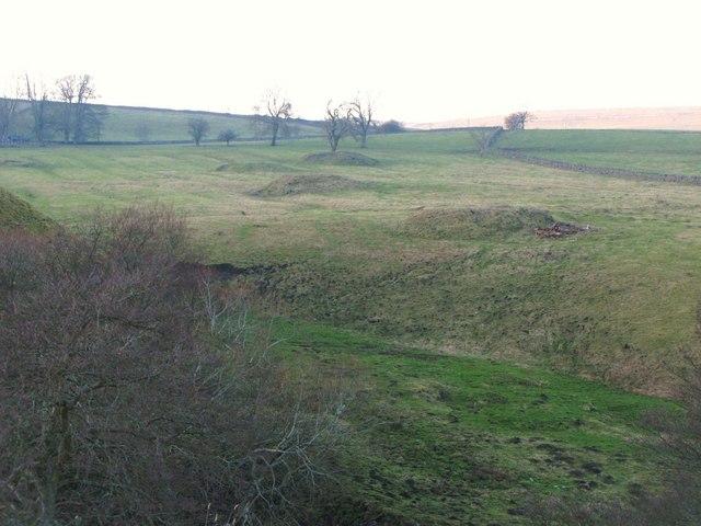 Old mine shafts
