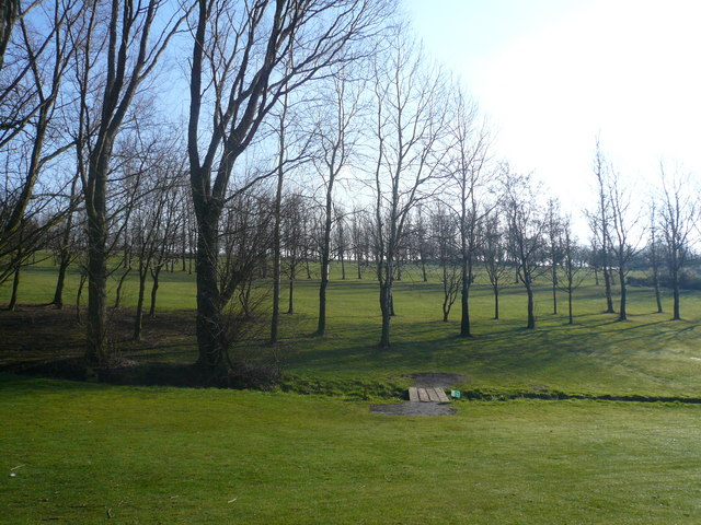Shirland Golf Course - View from Footpath