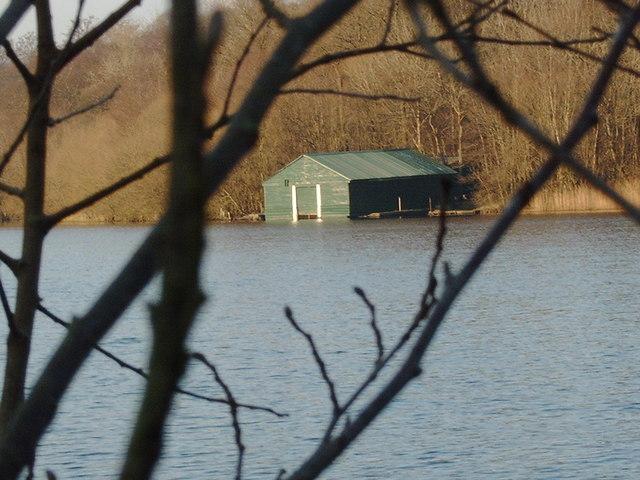 Boathouse at Lochaber Loch