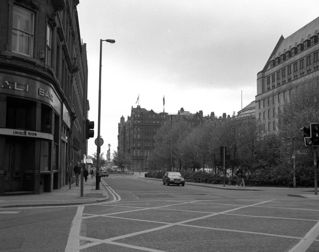 Mosley Street, towards St Peter's Square