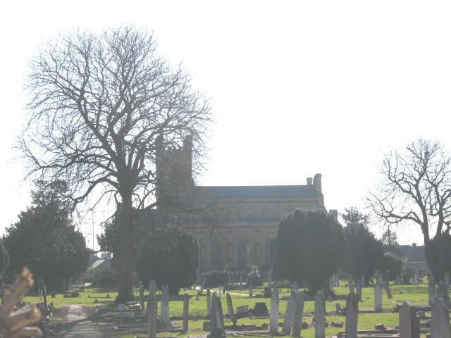 Mitcham parish churchyard