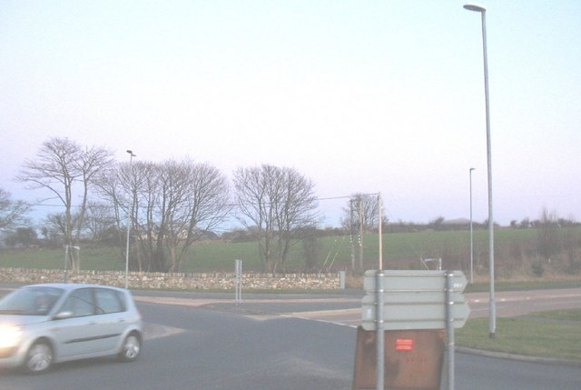 Junction of the A499 and the old Penygroes road at Llanwnda