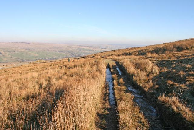 Moorland bridleway