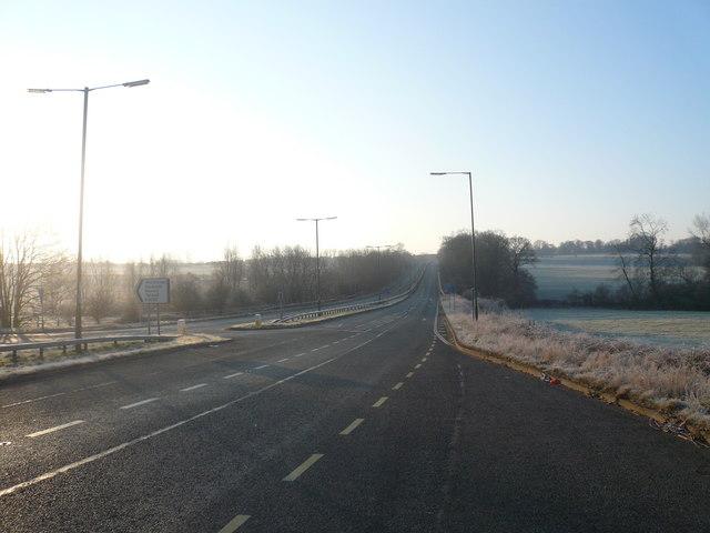 A61 View of Alfreton Hill