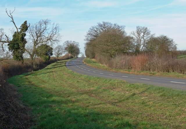North along the B4116 Twycross Road