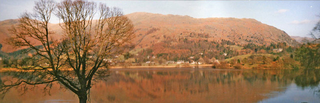 Looking East across Grasmere, Cumbria