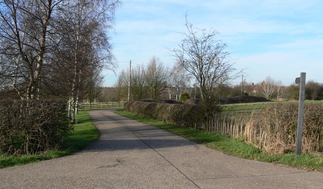 Entrance to Sibson Mill