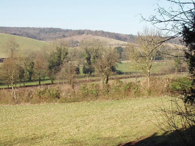 Fields near Pheasant's Hill