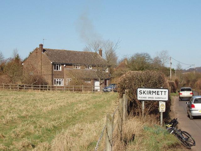 Entering Skirmett