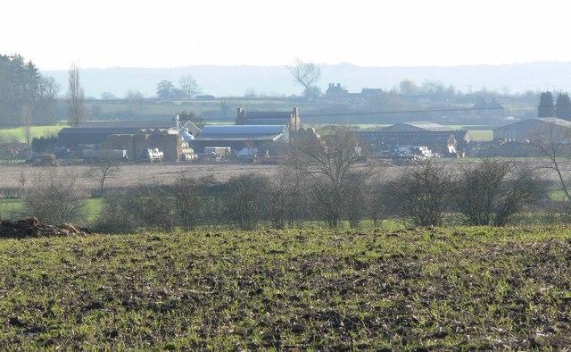 Lodge Farm near Ratcliffe Culey, Leicestershire